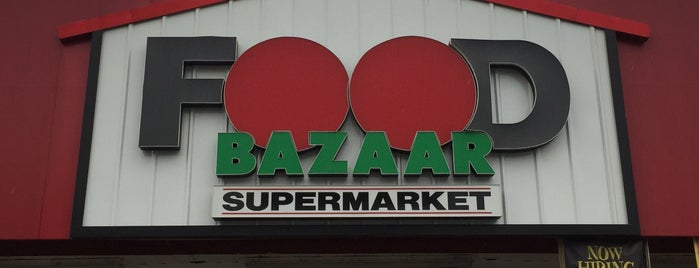 Food Bazaar Supermarket is one of Nj.