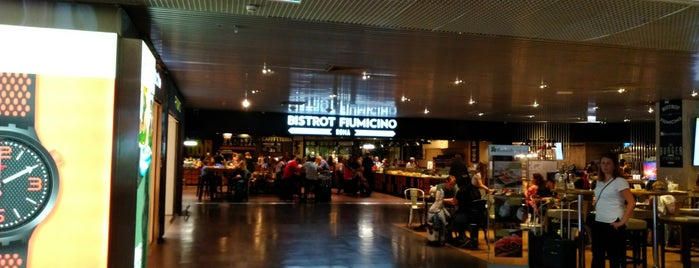 Bistrot Fiumicino is one of Orte, die Ico gefallen.