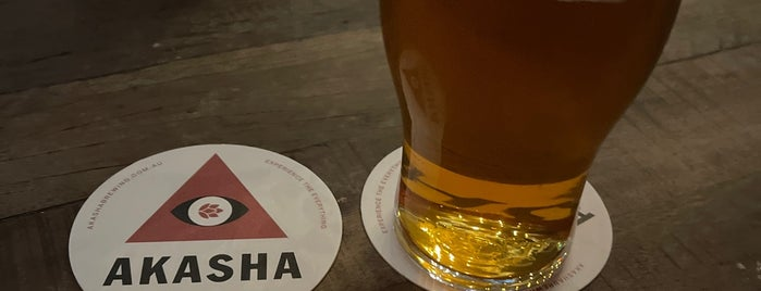 Akasha Brewing is one of Bars & Pubs.