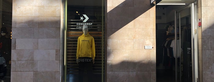 Carhartt is one of Barcelona.