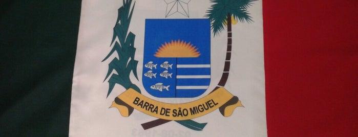 Prefeitura Municipal de Barra de São Miguel is one of Maria Bernadete : понравившиеся места.