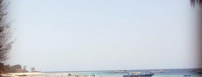 Pantai Gili Trawangan is one of สถานที่ที่บันทึกไว้ของ Jan.