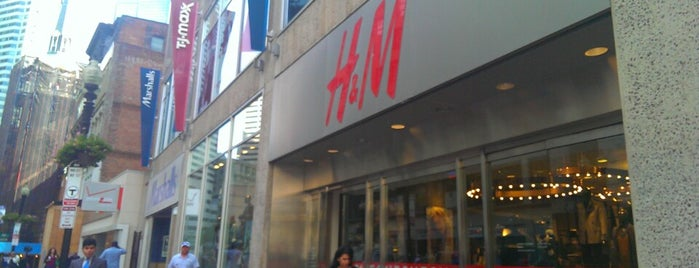 H&M is one of Guide to Boston's best spots.