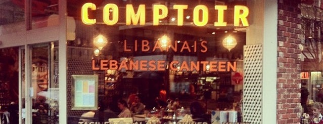 Comptoir Libanais is one of Lugares guardados de Eric.