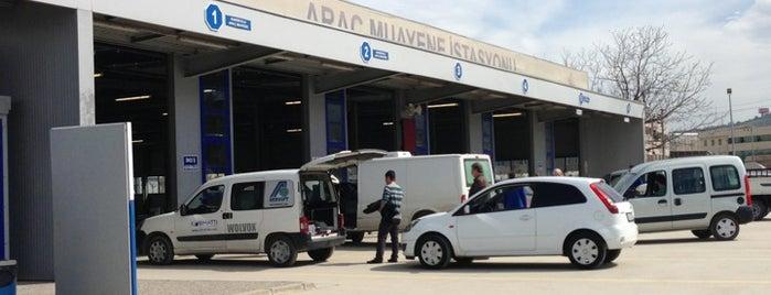 TÜVTÜRK Araç Muayene İstasyonu is one of Faruk : понравившиеся места.