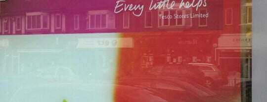 Tesco Express is one of James's Liked Places.
