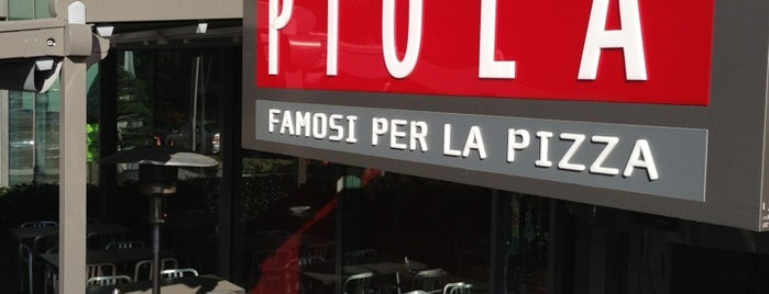 Piola Pizza is one of Ok.  =).