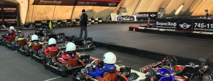 Forza Karting is one of Locais curtidos por Джулия.