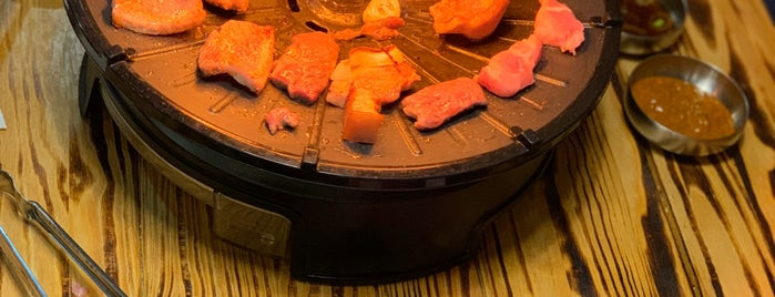 Maru Korean Restaurant is one of สถานที่ที่บันทึกไว้ของ Alexander.