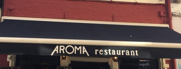Aroma Steakhouse is one of Andrew'in Kaydettiği Mekanlar.