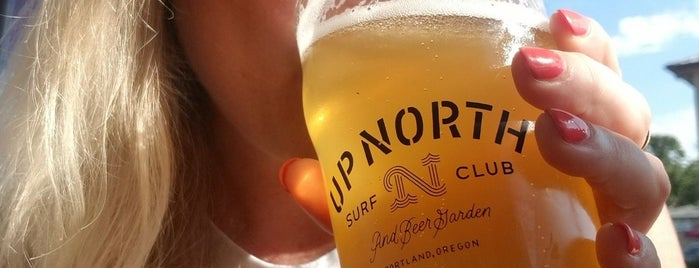 Up North Surf Club & Beer is one of PDX to-do.