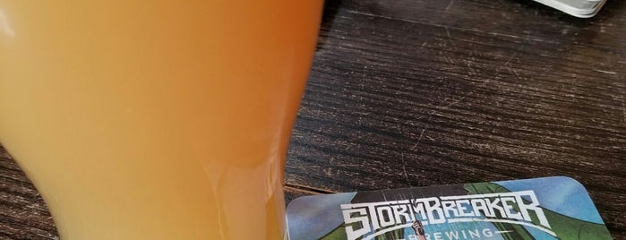 StormBreaker Brewing is one of Portland.