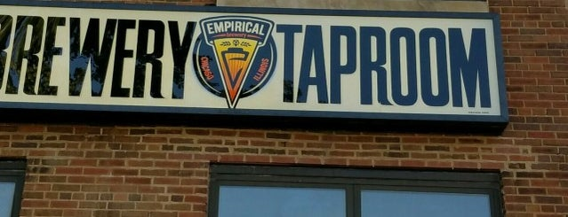 Empirical Brewery Taproom is one of Breweries I've Visited.