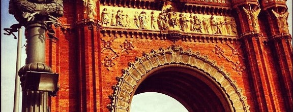 Arco do Triunfo is one of Barcelona.