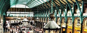 Covent Garden Market is one of London shopping.