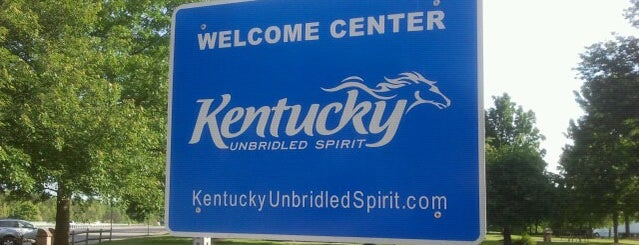 Kentucky Welcome Center is one of สถานที่ที่ Cralie ถูกใจ.