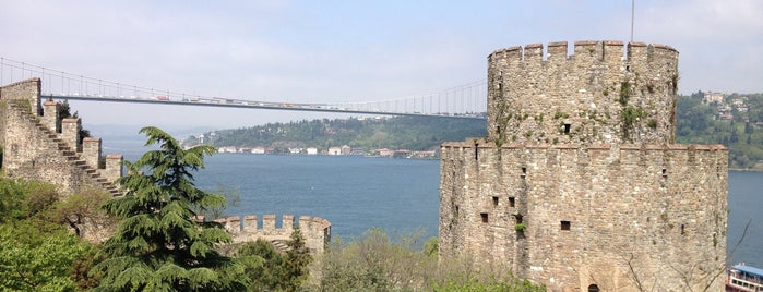 Rumeli Hisarı is one of Turkey Tour.