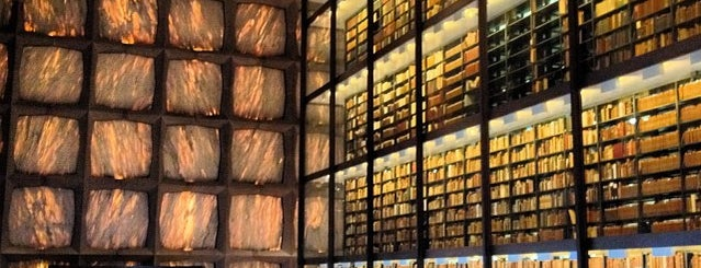 Beinecke Rare Book and Manuscript Library is one of Books everywhere I..