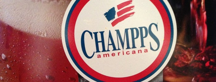 Champps is one of Been To.