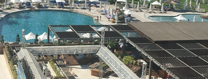Voyage Sorgun Hotel Beach is one of Lieux sauvegardés par Sencer Murat.