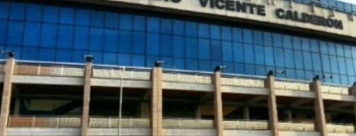Estadio Vicente Calderón is one of La Liga BBVA Stadium 2013-14.