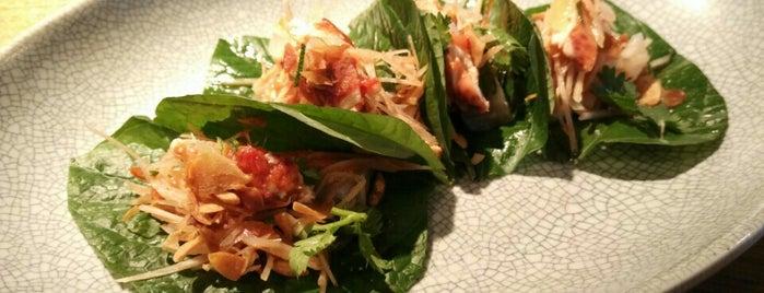 nahm is one of World's 50 Best Restaurants 2015.