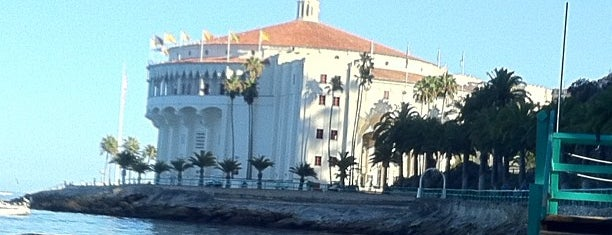 Catalina Casino is one of Living in Southern California.