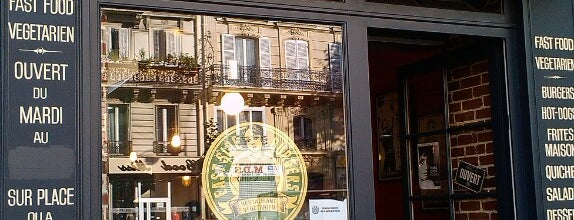 East Side Burgers is one of Comer en París.