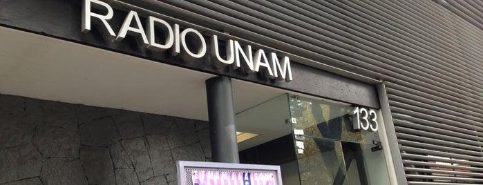 Radio UNAM is one of Tempat yang Disukai Jorge.