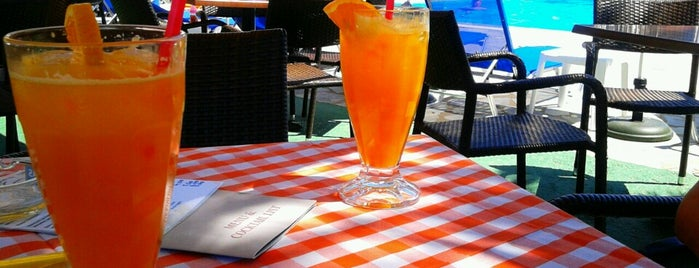 Pool Bar Alkyon is one of Corfu 2018.
