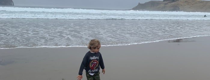 Cape Kiwanda State Natural Area is one of The New Yorker's Guide to Portland.