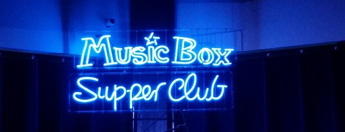 Music Box Supper Club is one of USA #4sq365us.