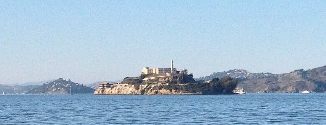 View of Alcatraz is one of San Fransisco.