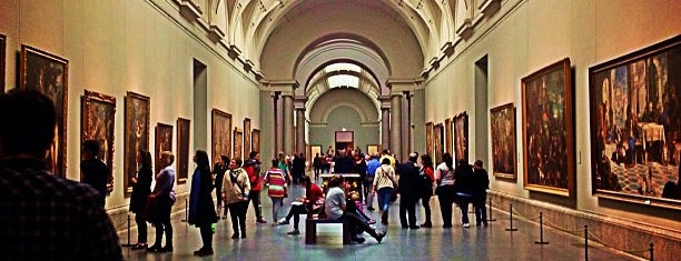 Museo Nacional del Prado is one of Stevenson's Favorite Art Museums.