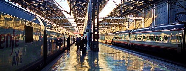 Estación de Málaga-María Zambrano is one of สถานที่ที่ Salim ถูกใจ.