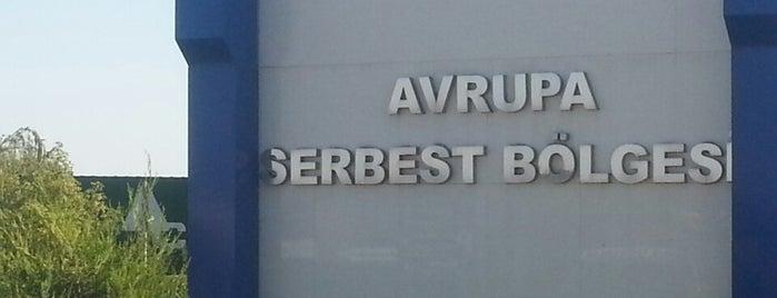 Avrupa Serbest Bolgesi is one of Lugares favoritos de Yılmaz.