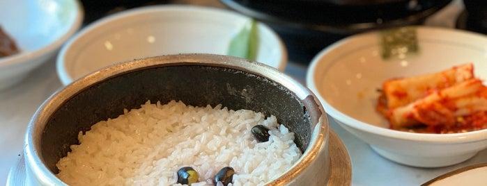 임금님쌀밥집 is one of Korean food.