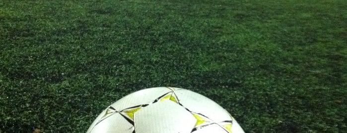 Футбольные поля и стадионы