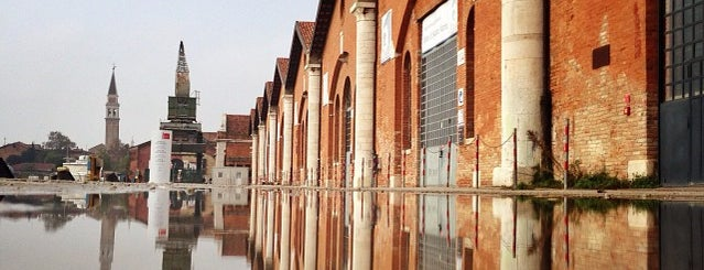 La Biennale @ Arsenale is one of Venice List.