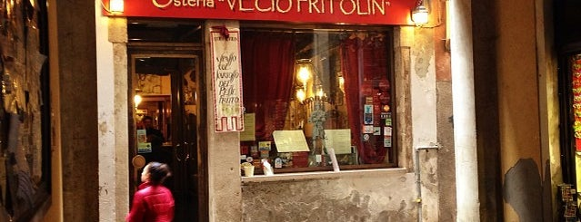 Vecio Fritolin is one of Venice.