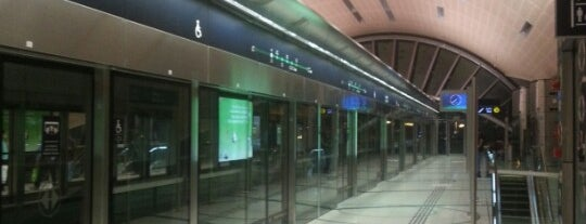 Abu Hail Metro Station is one of Dubai.