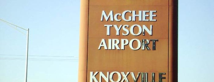 McGhee Tyson Airport (TYS) is one of Tempat yang Disukai Gregory.
