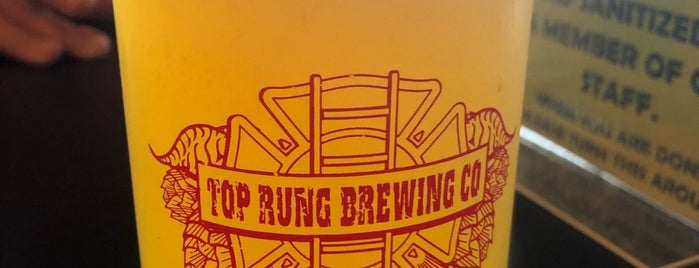 Top Rung Brewing is one of Puget Sound Breweries South.