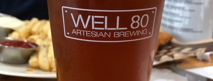 Well 80 Artesian Brewing Company is one of Brentさんの保存済みスポット.