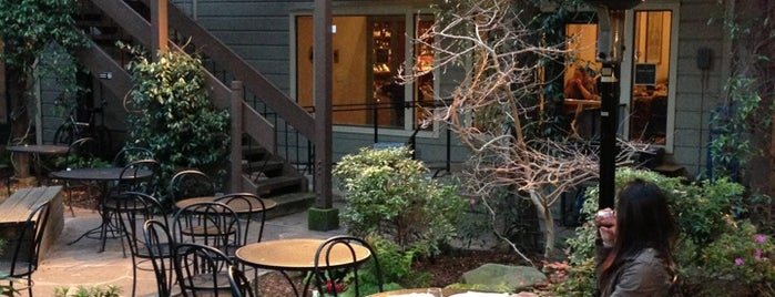 Arlequin Cafe & Food To Go is one of The 16 Coolest Outdoor And Patio Bars In SF.