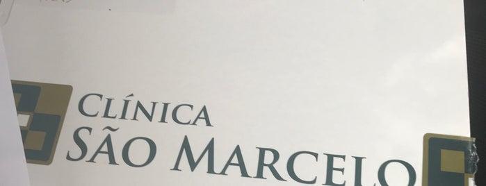Clínica São Marcelo is one of Clau : понравившиеся места.