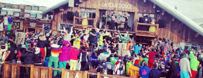 La Folie Douce is one of Where the Iggy likes to hang out.