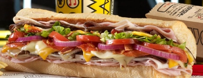 Which Wich? Superior Sandwiches is one of Cochi time 🐽.