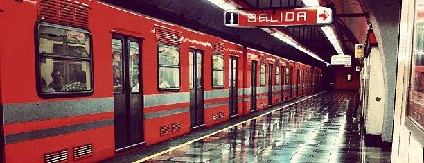 Metro Refinería is one of A-14.