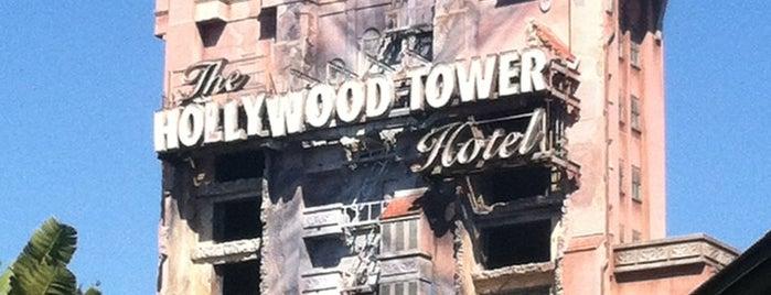 The Twilight Zone Tower of Terror is one of Walt Disney World.